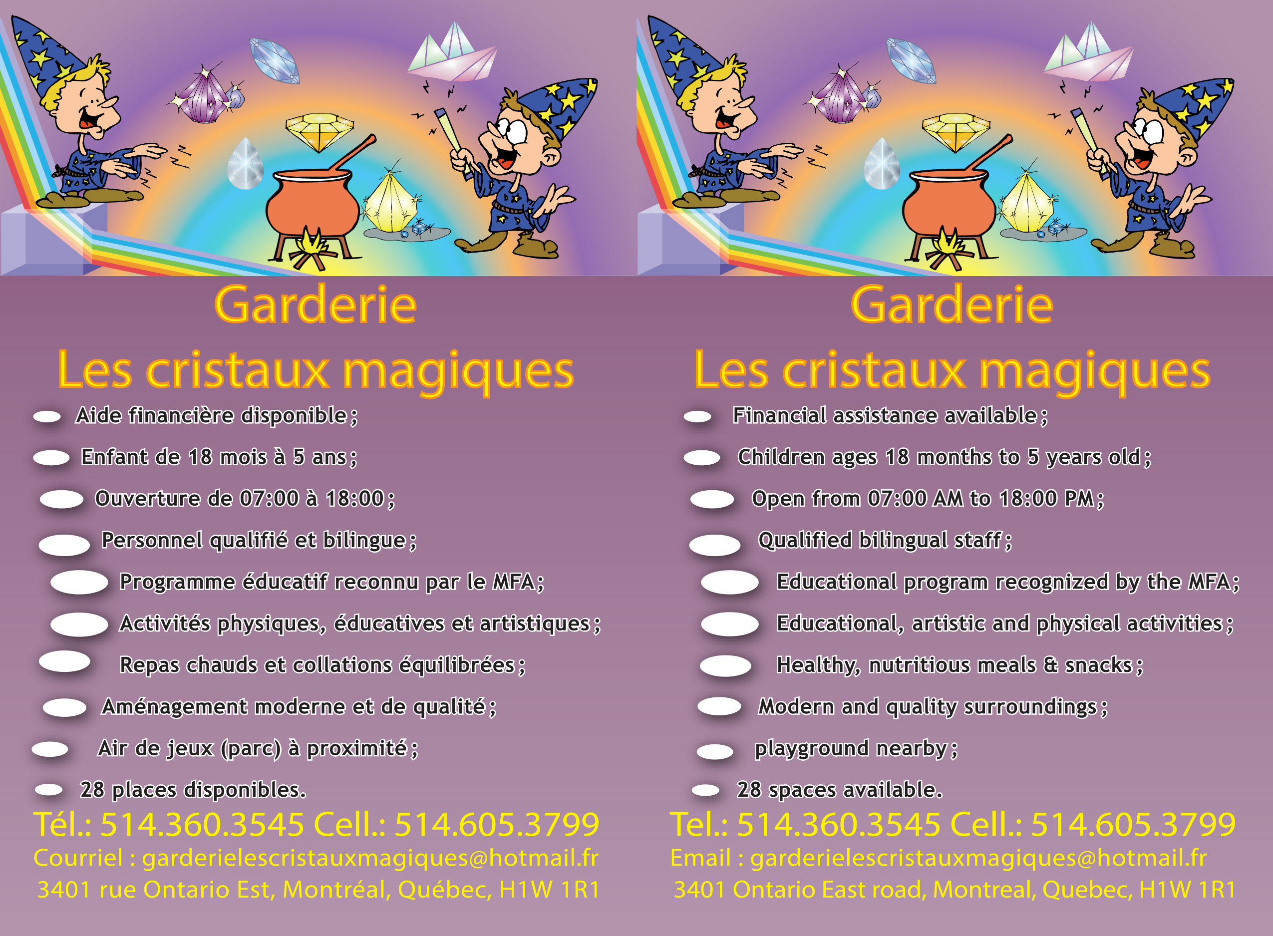 projets infographiques